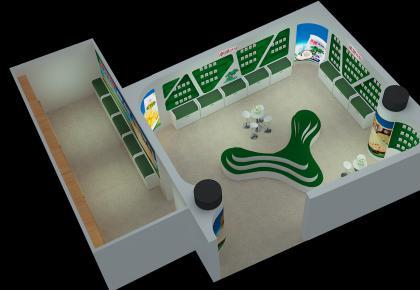 企业产品展示厅形象设计施工