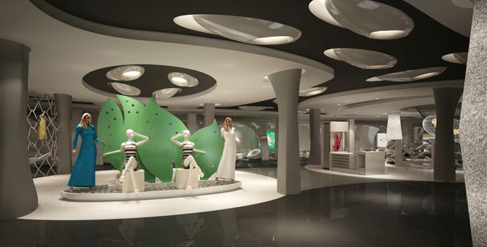 科技展厅设计效果图