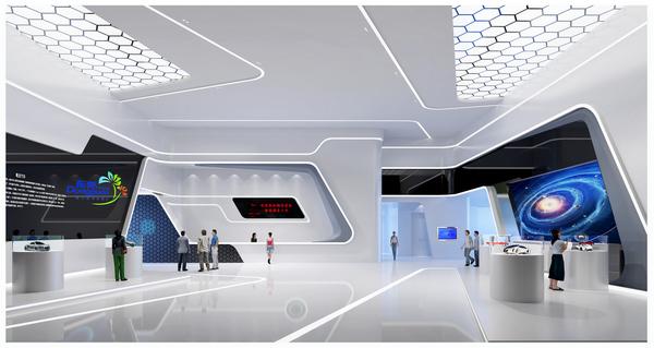 企业文化展厅设计效果图