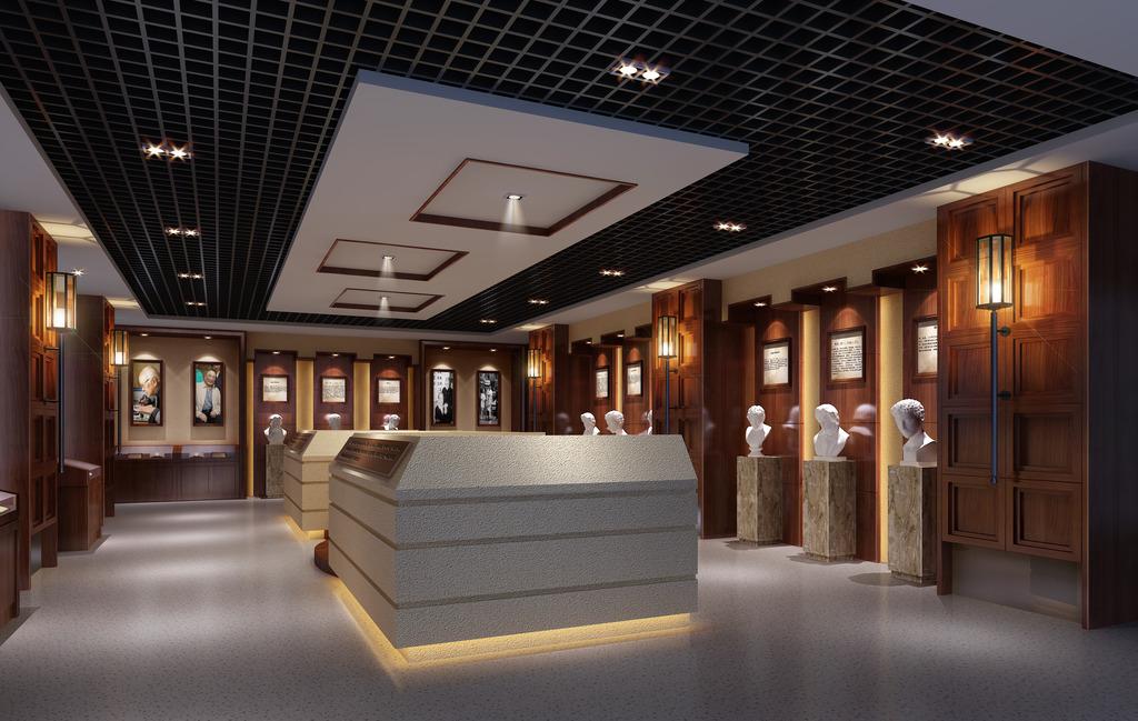 展示馆展示厅设计效果图