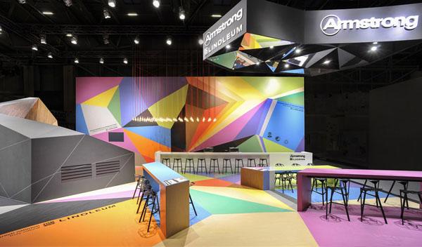高端国际展台设计 美国Armstrong