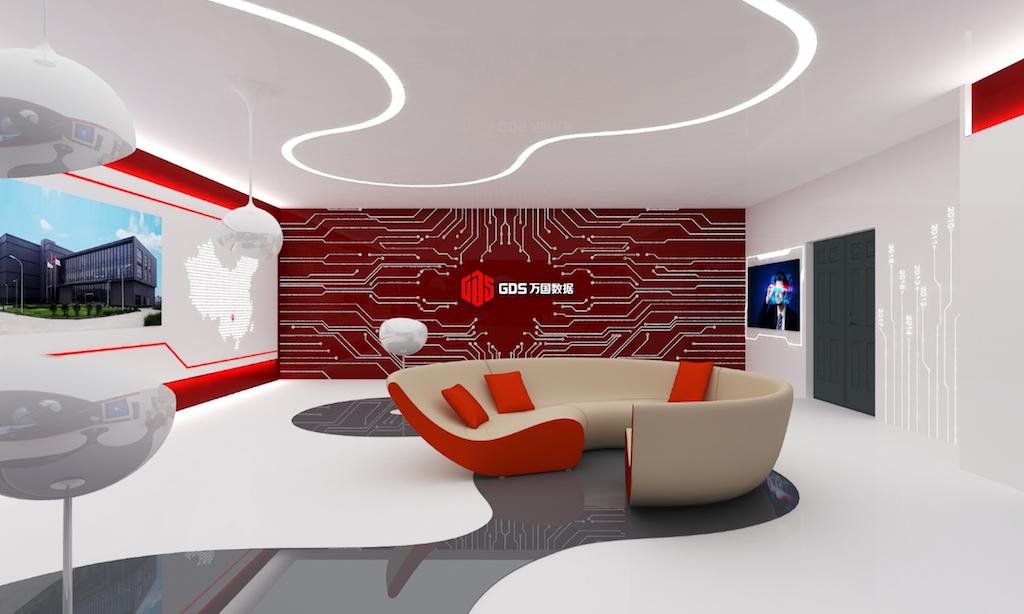 科技公司展厅设计
