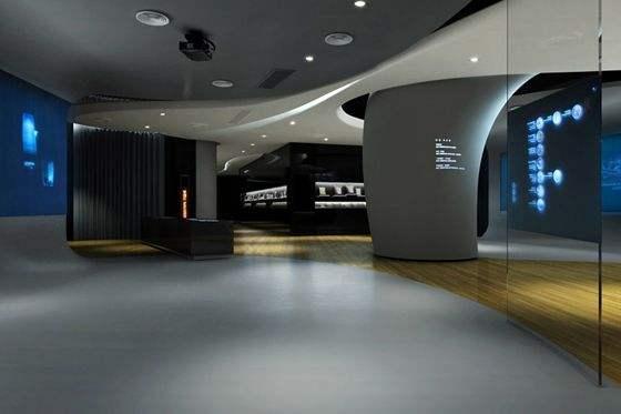 展示设计中天棚造型设计