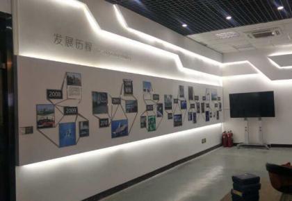 企业展厅设计形象墙设计施工